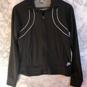 Nike. Dri-Fit Zip Up Jacket.